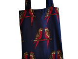 "Tote Bag "" Les perruches amoureuses """